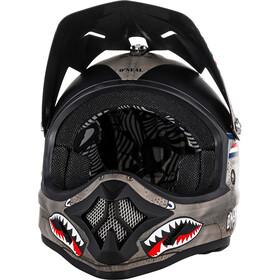 O'Neal Backflip RL2 Evo Helmet Wingman Kids, metal white